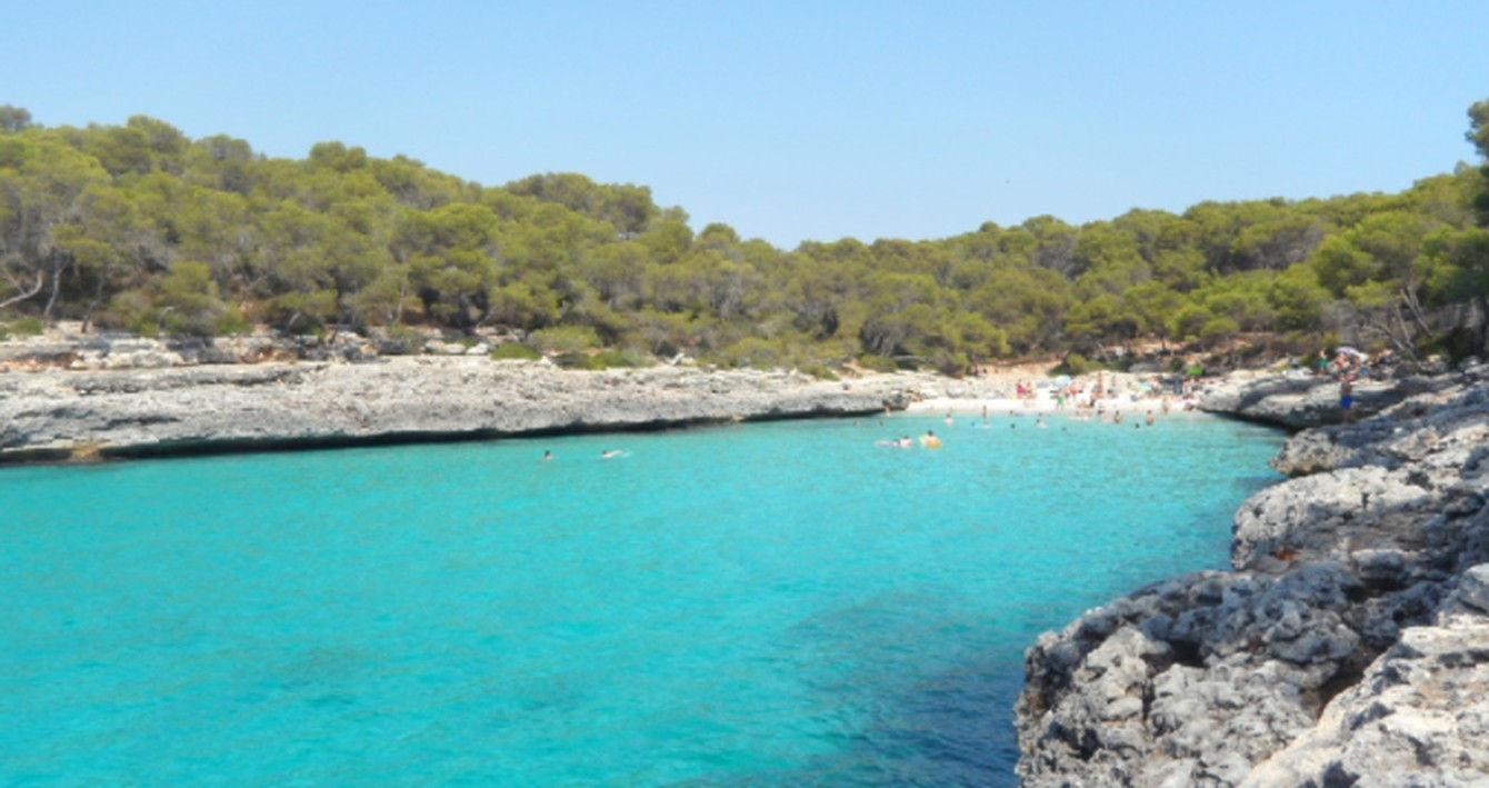 Stay on a bot with Beds on Board and visit Mallorca's beaches