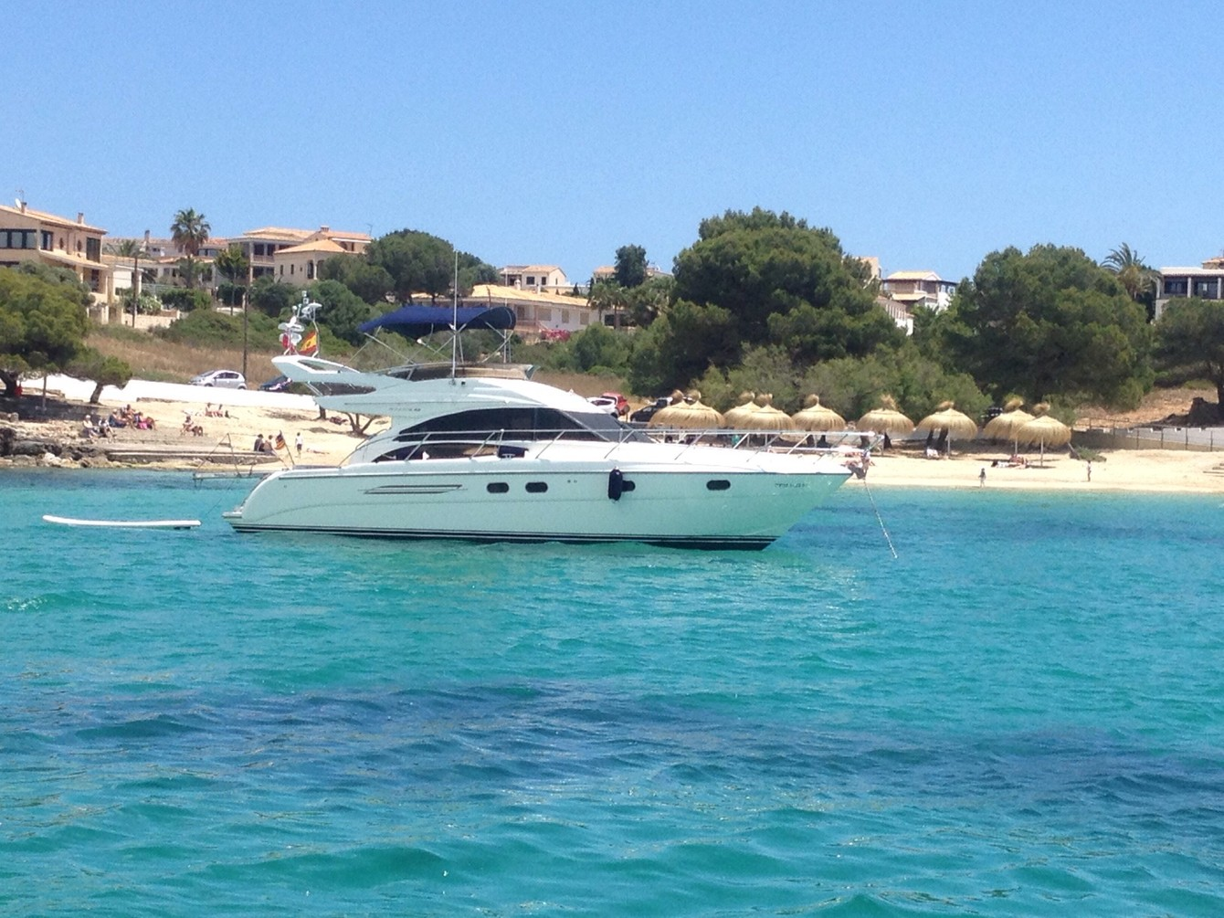 Stay on a boat in Mallorca