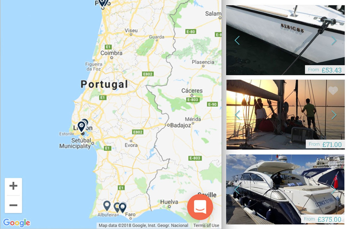 Stay on a boat in Portugal